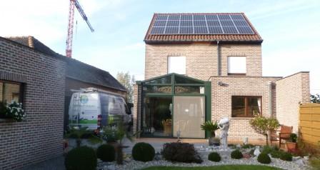 PV-panelen SHARP 5,25 KWP