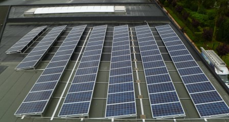 PV-panelen SHARP 22,54 Kwp