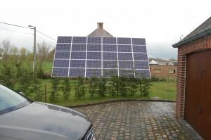 installatie zonnevolger