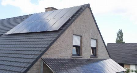 zonnepanelen gevelmontage