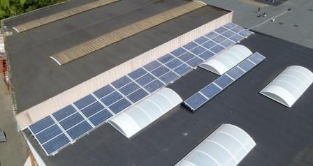zonnepanelen installatie aluminium schans