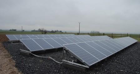 grondinstallatie zonnepanelen