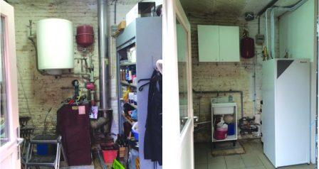 Daikin lucht/water LT renovatie